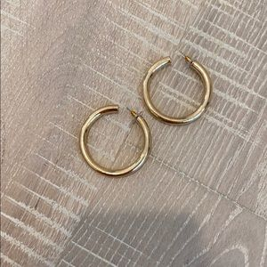 Target gold hoops worn once